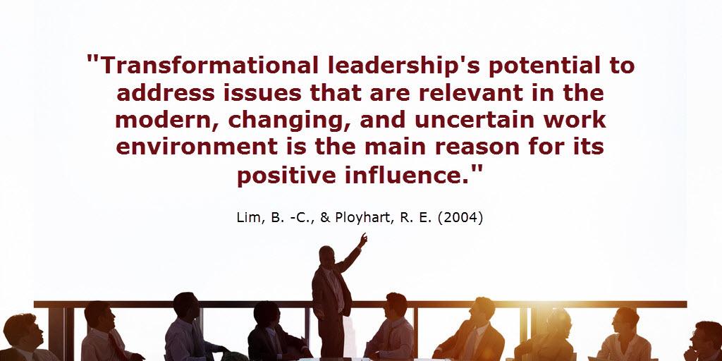 transformational leadership sub